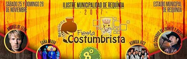 VIII Fiesta Costumbrista de Identidad Regional de Requínoa