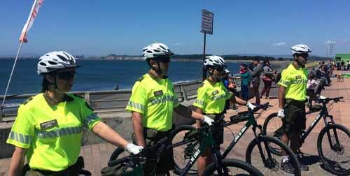 Historia del servicio en bicicleta de Carabineros de Chile