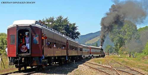 Tren Turístico El Valdiviano 2018