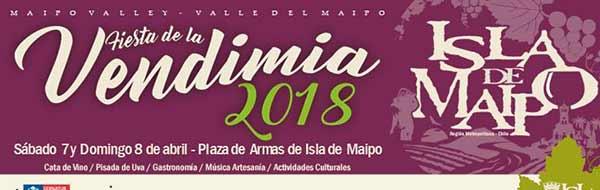 Fiesta de la Vendimia Isla de Maipo 2018