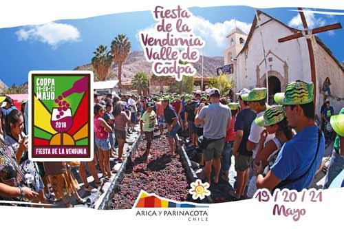 Fiesta de la Vendimia del Valle de Codpa 2018