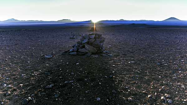 Identifican Calendario Incaico en el Desierto de Atacama saywas