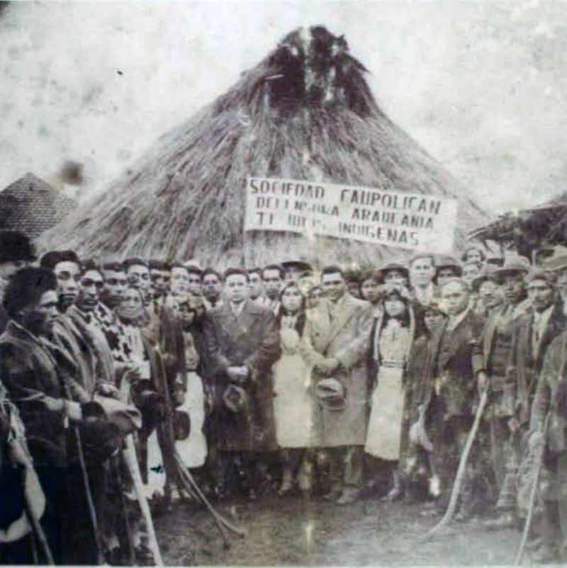 neculman primer profesor mapuche