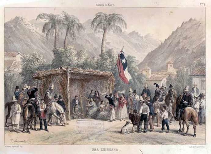 chiangana de claudio gay 1854 cueca colonia