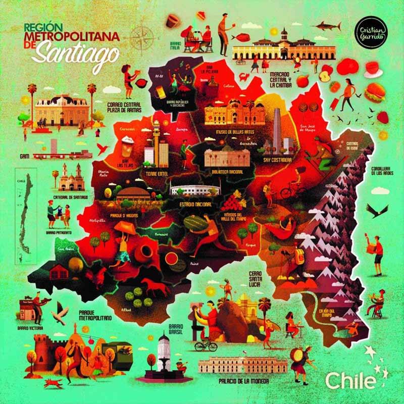 Exposición audiovisual destaca los íconos de mayor orgullo para los chilenos