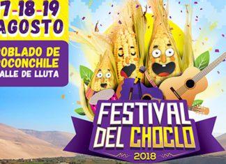 Festival del Choclo 2018 en Poconchile, Arica