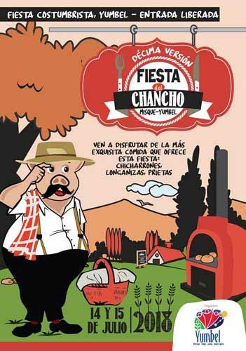 Este sábado 14 y Domingo 15 fiesta costumbrista en Yumbel