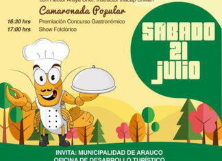 Fiesta del Camarón en Carampangue 2018