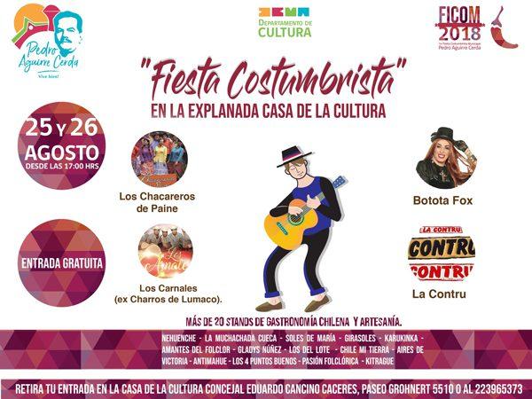 1° Fiesta Costumbrista Comunal de Pedro Aguirre Cerda