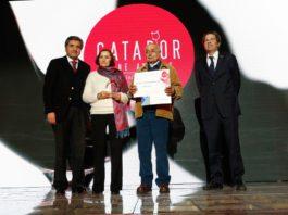 Matrimonio de pequeños viñateros de Lolol obtiene premio al mejor vino campesino CATAD'OR 2018