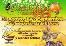 Expo Miel se realizará en la comuna de El Monte los días viernes 31 de agosto, sábado 1 y domingo 2 de septiembre de 2018.