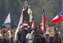 La Virgen del Carmen inició la Parada Militar 2018