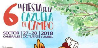 6ª Fiesta de la Cazuela de Campo de Cambrales, Yumbel