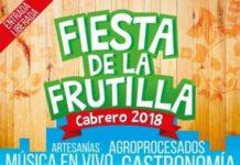 fiesta de la frutilla cabrero 2018
