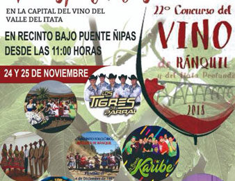 fiesta del vino de ranquil itata 2018