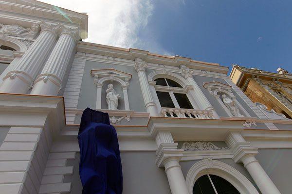 Termina la Restauración de la fachada del Teatro Municipal de Iquique