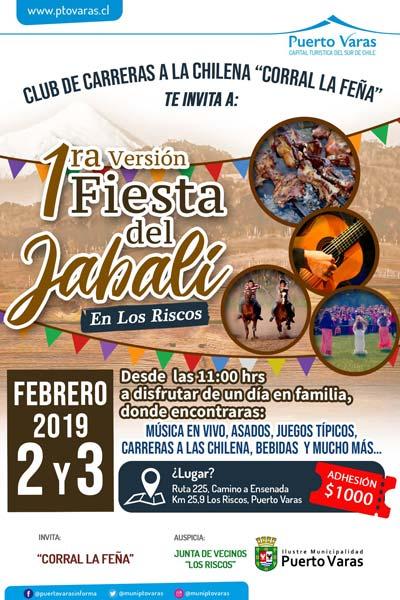 Día del Kuchen y Fiesta del Jabalí en Puerto Varas