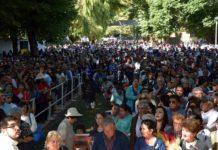 500 mil peregrinos llegaron a Yumbel para celebrar a San Sebastián