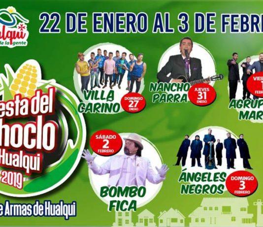 fiesta del choclo 2019 en hualqui