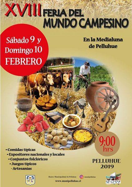 XVIII Feria del Mundo Campesino en Pelluhue