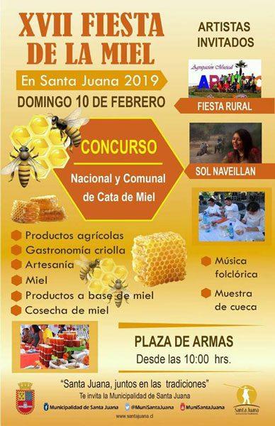 XVII Fiesta de la Miel de la comuna de Santa Juana 2019