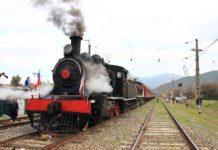 Desde Estación Central, Tren a Vapor para asistir a Feria Expo Catam en El Monte