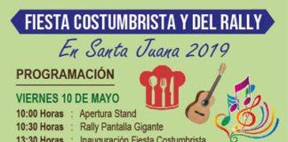 Fiesta Costumbrista del Rally Mundial en Santa Juana