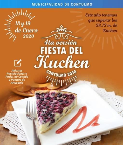 IV Fiesta del Kuchen en Contulmo