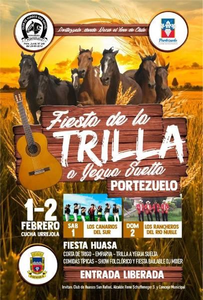 Trilla a Yegua Suelta en Portezuelo