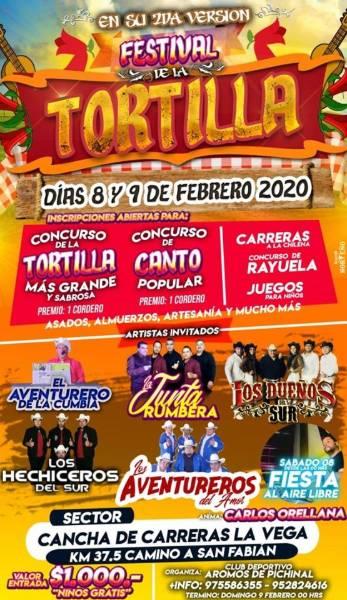Festival de la Tortilla en San Fabián