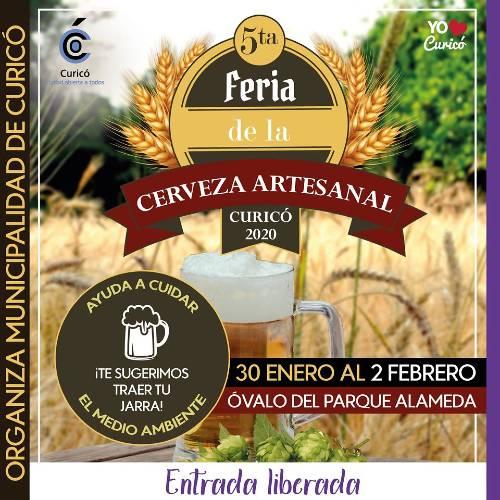 5ª Feria de la Cerveza Artesanal en Curicó