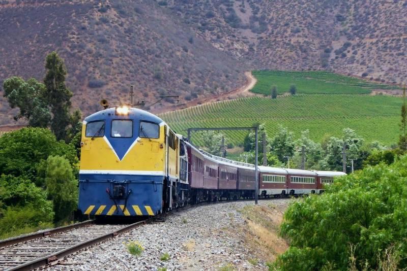 tren turistico santiago limache