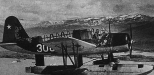 alerto parodi primer vuelo antartico