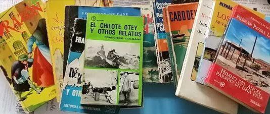 libros antiguos chilenos