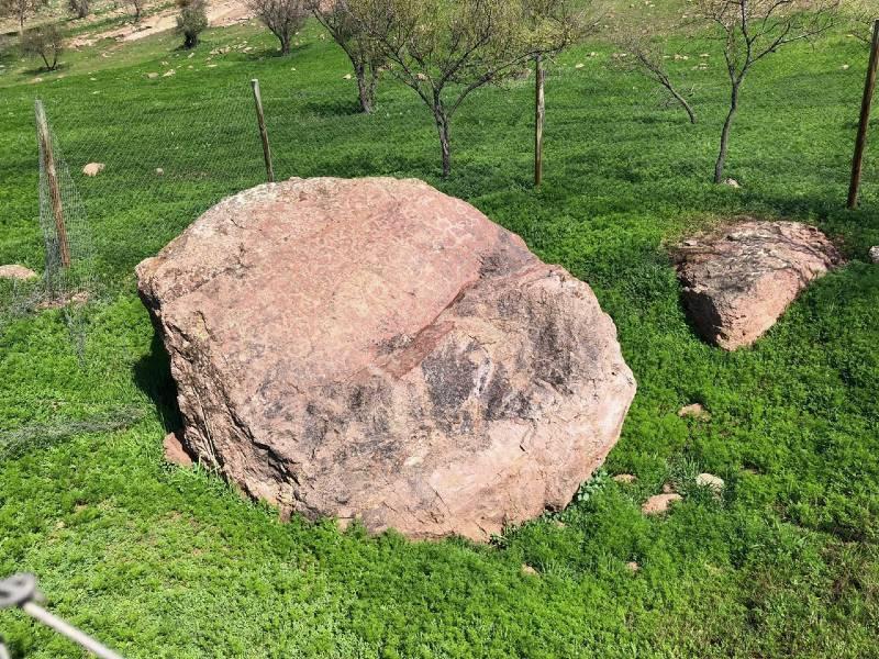 Si bien un carco protege el lugar en quebrada Totorillas, este no se encuentra en el registro del CMN. Foto: Juan Carlos Arellano