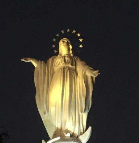 Virgen de l Cerro San Cristobal es coronada